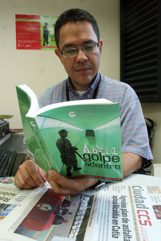 El director del diario Ciudad CCS considera que su mejor militancia es detrás de un escritorio y no en las reuniones del PSUV. Producto de ello es su reciente libro […]