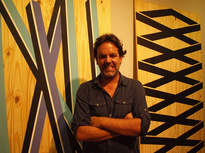 Jorge Cabieses el domingo pasado en GBG Arts.