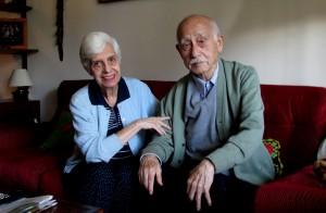 El profesor Chen y su mujer, fotografiados en su apartamento en diciembre de 2013.