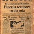 Hace 41 años, tal día como hoy, en una planta del edificio REX de la parte industrial de la urbanización La Urbina, en Caracas, los periodistas de El Diario de […]