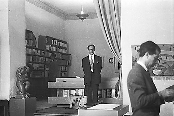 Otro aspecto de la Librería Magisterio, hacia 1945.