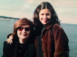 Ferrero junto a su hija Georgina González.