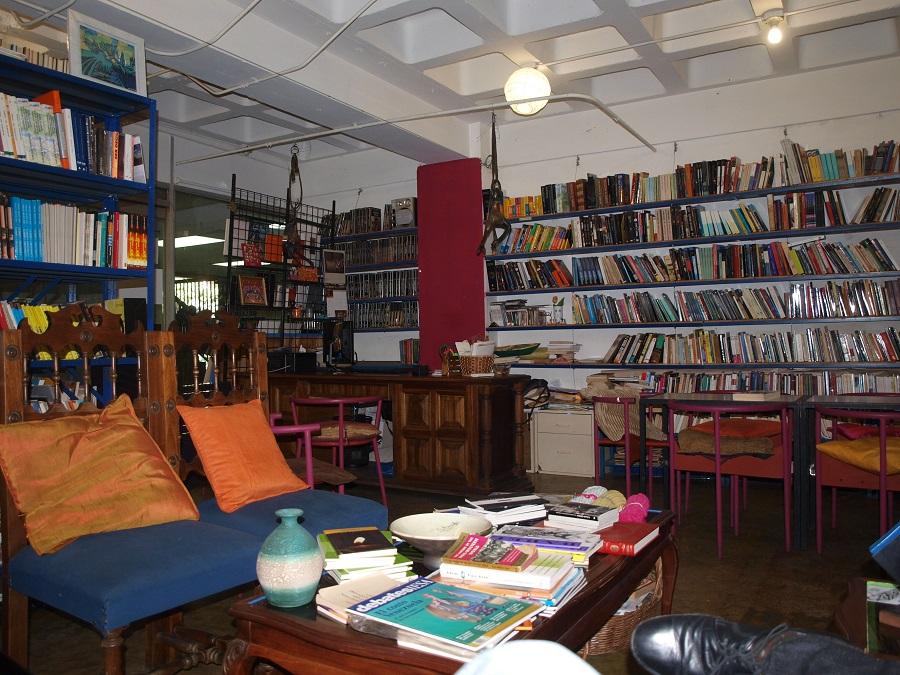 Librería Liberarte, fotografiada a principios de 2015.