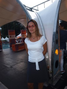 Albe Pérez, anfitriona por Cultura Chacao.