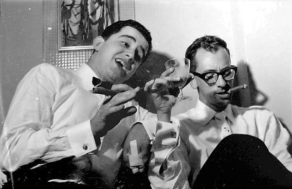 Pepe Blanco, a la izquierda, y JJ Castro, a la derecha: desde la distancia, en un tiempo que se observa con nostalgia, idílico.
