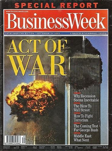Edición latinoamericana de Newsweek que siguió al ataque a las Torres Gemelas.