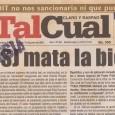 Ahora que el diario Tal Cual está en peligro conviene reflexionar sobre los haberes de un diario que le ha llevado el pulso al proceso de retroceso que ha significado […]
